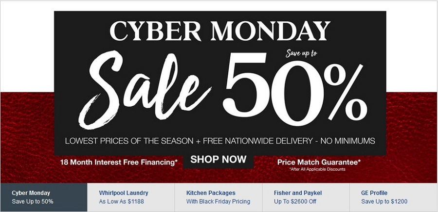 AjMadison Cyber Monday Sale