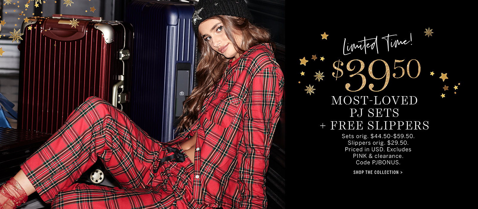 $39.50 Most-Loved PJ Sets + Free Slippers