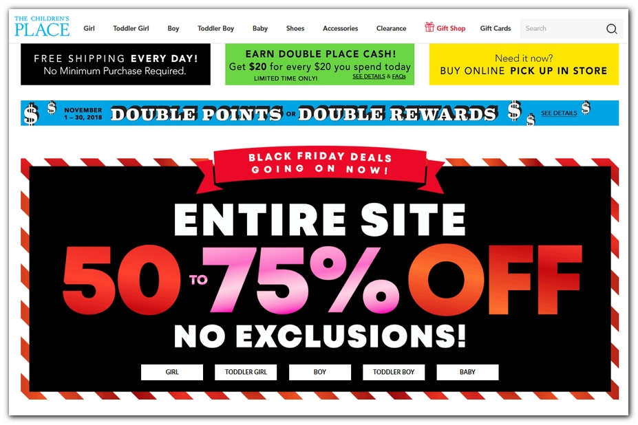 f762daaa37c8 Children's Place Black Friday 2019 Ad, Deals and Sales