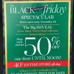 Talbots Center Black Friday